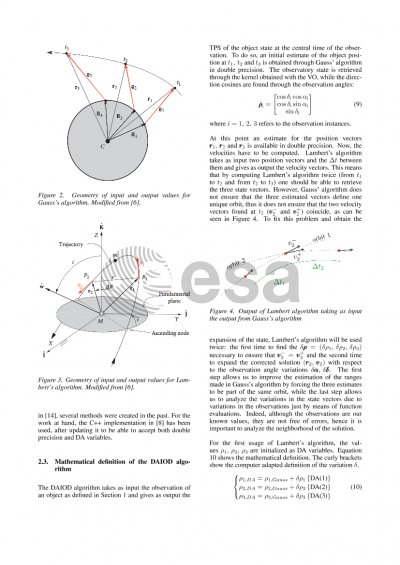 Initial Orbit Determination based on the High-order Propagation of